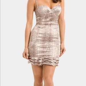 Guess by Marciano Dress S snake print